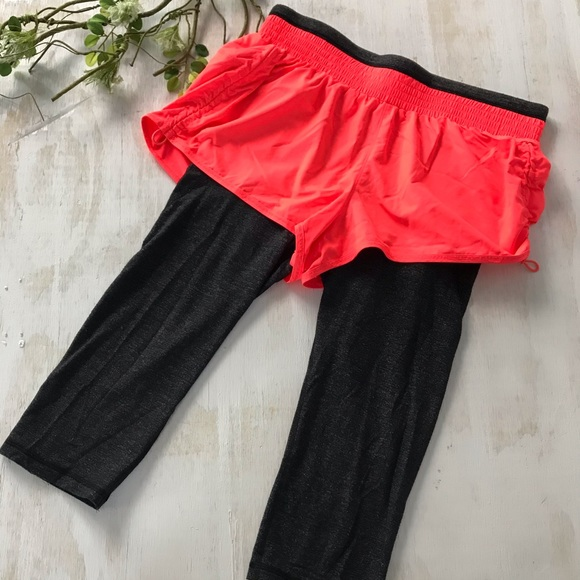 Athleta Athletic Short with leggings size small